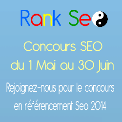 rankseo concours seo 2014