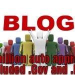 blog auto approve